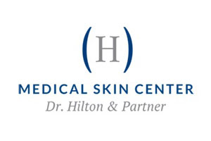 MEDICAL SKIN CENTER, Dr. Hilton & Partner Logo